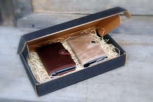 lommebok secrid 8603 dark brown & taupe vintage  ullvotten.no